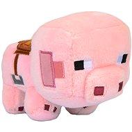 Minecraft Saddled Pig - Plyšák