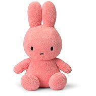 Miffy Sitting Terry Pink 33cm - Plush Toy