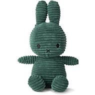 Miffy Sitting Corduroy Dark Green 23 cm