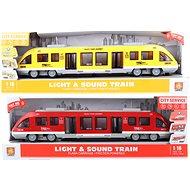 Vlak na baterie - Mašinka