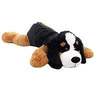 Plush dog lying 100 cm