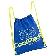 Coolpack Sprint neon blue - Sáček na přezůvky