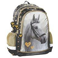 Paso Kůň šedý - Školní batoh