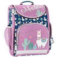 Paso Lama modro-fialová - Školní batoh