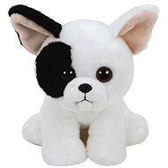 Beanie Babies MARCEL, 15 cm - bílý pes