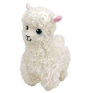 Beanie Babies LILY, 24 cm - krémová lama - Plyšák