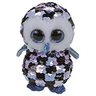 BOOS Flippables TOPPER, 15 cm - sequin blue-black owl