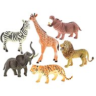 Sada zvířátka safari 16-23cm 6ks