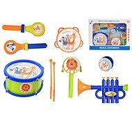 Sada hudebních nástrojů 7ks s paličkami - Hudební hračka