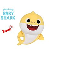 Baby Shark Spandex 27cm plush for batteries with a sound of yellow 0m + in a bag