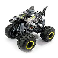 Big Wheel Cars 1:16 Big Shark černý - RC auto na dálkové ovládání