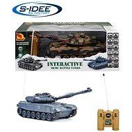 Bojující tank T-90  2,4 GHz s infra dělem, bojující 1:28 - Tank na dálkové ovládání