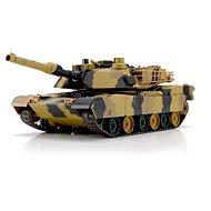 RC tank M1A2 ABRAMS 1:24 BB+IR RTR sada - Tank na dálkové ovládání