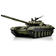 RC tank T-72 BB + IR 1:16 with metal belts and RTR gearboxes - Remote Control Tank