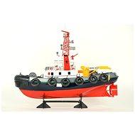 Hasičská loď s vodním dělem RTR - Loď