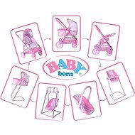 Baby Born Folding stroller Baby Born - Doll Stroller