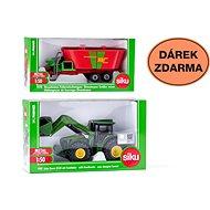 Siku Farmer - John Deere tractor with front loader + gift
