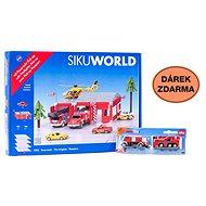 Siku World - Fire station + gift