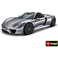Bburago 1:24 Porsche 918 Spyder Metallic gray 18-21076
