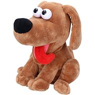 Laughing dog with sound effects 21 cm