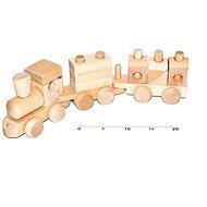Wooden natural train - Train