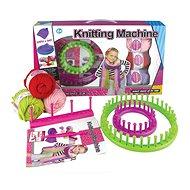 Pletací stroj s vlnou - Kreativní hračka