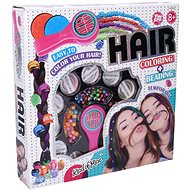 Decorating hair with beads
