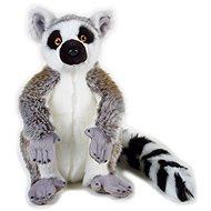 National Geografic Zvířátka z deštného pralesa 770757 Lemur 30 cm - Plyšák