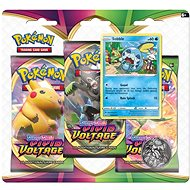Pokémon TCG: SWSH04 Vivid Voltage - 3 Blister Booster
