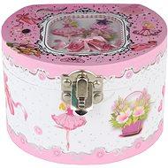 Hrací skříňka šperkovnice baletka - Šperkovnice