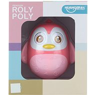 Rolly-polly růžové - Hračka pro nejmenší