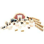 Dřevěná zvířátka z farmy - Kreativní hračka