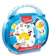 Creative Kit Set of Maped Early Age - Finger Colours