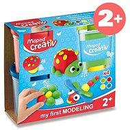 Kreativní sada Modelovací hmota Maped Creativ, 4 barvy