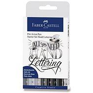 Popisovače Faber-Castell Pitt Artist Pen Hand Lettering, sada 9 ks  - Popisovač
