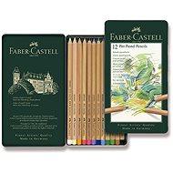 Pastelky Faber-Castell Pitt Pastell v plechové krabičce, 12 barev