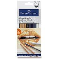 Sada Faber-Castell Classic Sketch, 6 ks  - Výtvarné potřeby