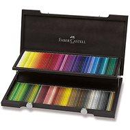 Pastelky Faber-Castell Polychromos, 120 barev, dřevěná kazeta - Pastelky
