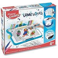 Sada Maped Lumi Board - Tabule s podsvícením - Malování pro děti
