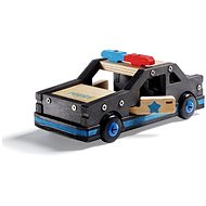 Stanley Jr.K096-SY Stavebnice, policejní auto, dřevo - Stavebnice