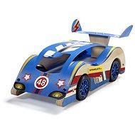 Stanley Jr.K004-SY Stavebnice, závodní  auto, dřevo - Stavebnice