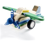 Stanley Jr. JK029-SY Stavebnice, letadlo, dřevo - Stavebnice