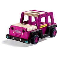 Stanley Jr. K088BUD-SY Stavebnice, terenni auto , dřevo