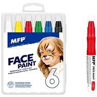 Barvy na obličej MFP 6ks set - Zkrášlovací sada