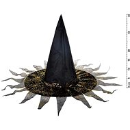 Witch hat M03 black-gold 40 x 36 cm