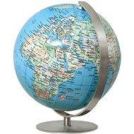 mini globe Royal Blue political 12cm EN - Educational Toy