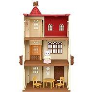 Sylvanian families Dům s věží a červenou střechou - Figurka