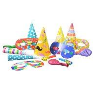 Set párty pro 4 osoby  - Silvestr - Happy New Year - Party doplňky