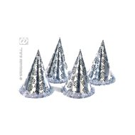 Hat Happy new year- New Year' s Eve - silver - 1 pc