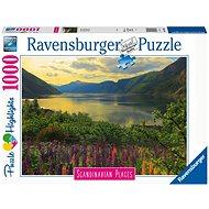 Ravensburger 167432 Skandinávie Fjord v Norsku, 1000 dílků  - Puzzle
